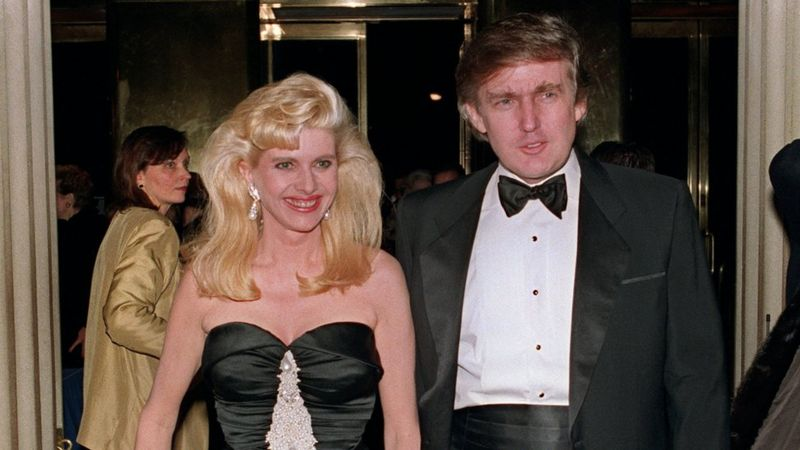 Trump and his wife